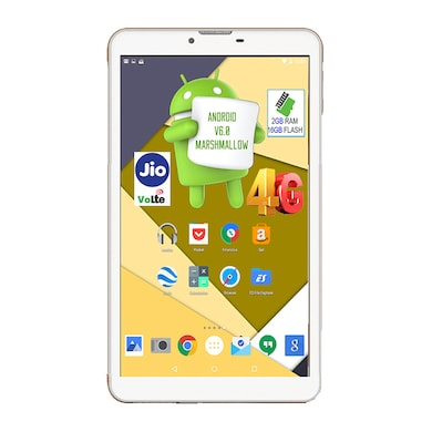 I Kall N5 VoLTE 4G Wifi Voice Calling Tablet White, 16 GB Price in India