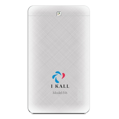 I Kall N6 3G + Wifi Voice Calling Tablet White, 8GB Price in India