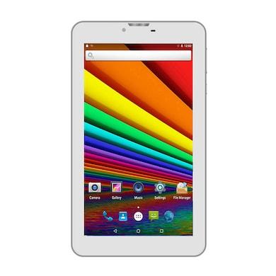 I Kall N8 White 3G + Wifi Voice Calling Tablet White,8GB Price in India