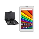 Buy I Kall N8 White 3G + Wifi Voice Calling Tablet With Keyboard White,8GB Online