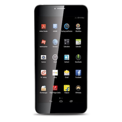 iBall 6095 D20 8GB 3G Calling Tablet Black, 8 GB Price in India