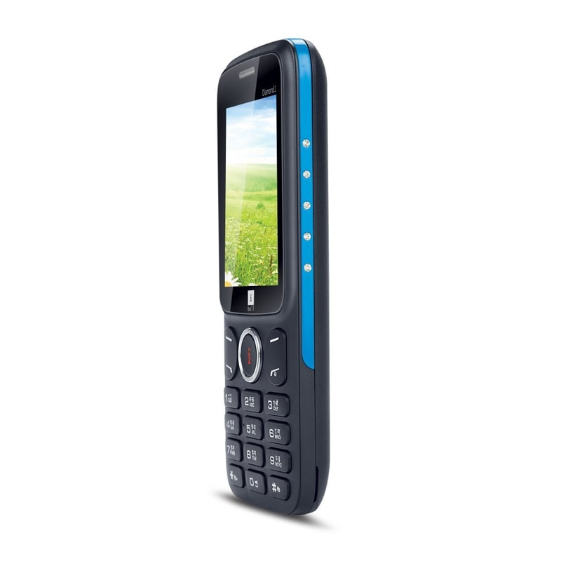 Buy iBall Diamond 2 Feature Phone Black and Blue online