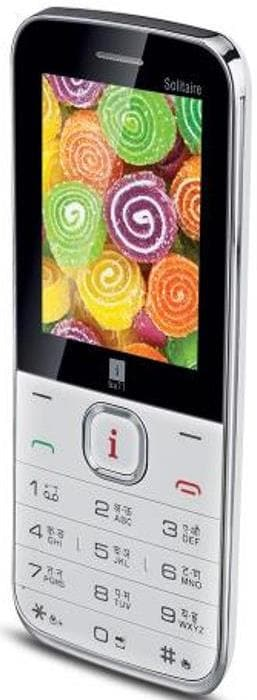 iBall Solitaire 2.4L (White, 10MB RAM) Price in India