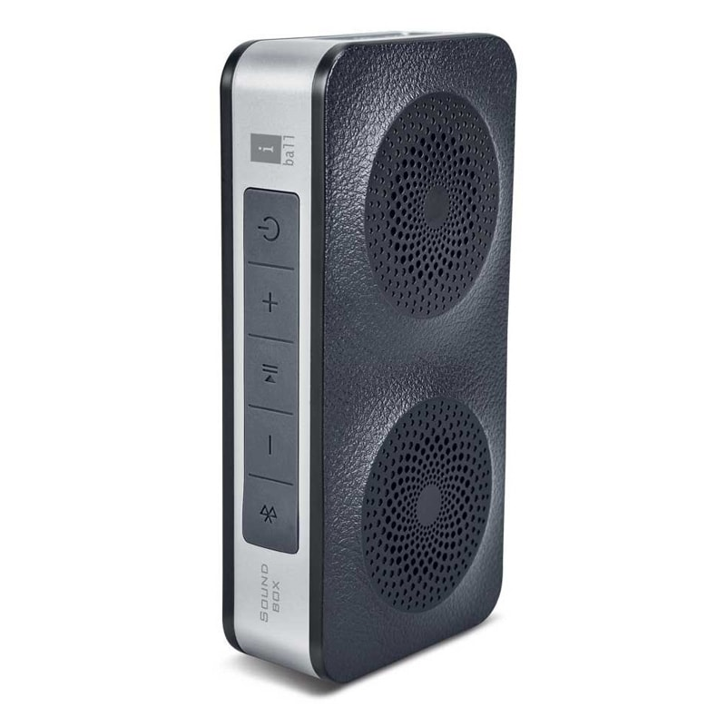 Iball Bluetooth Portable Speaker: IBall Soundbox Portable Bluetooth Speaker With Mic Black Price In India