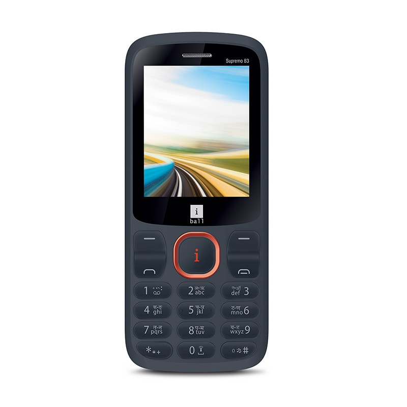 Buy iBall Supremo B3 Feature Phone Black and Red online