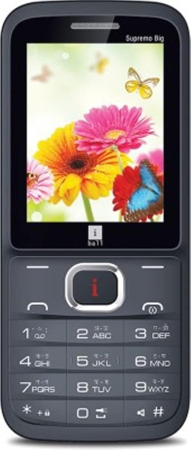 iBall Supremo Big 2.4D (Black and Gold, 256KB) Price in India