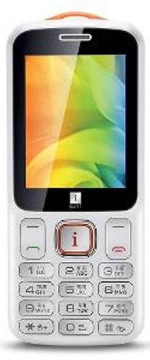 iBall Swing 2.4L (White and Orange, 32MB RAM) Price in India