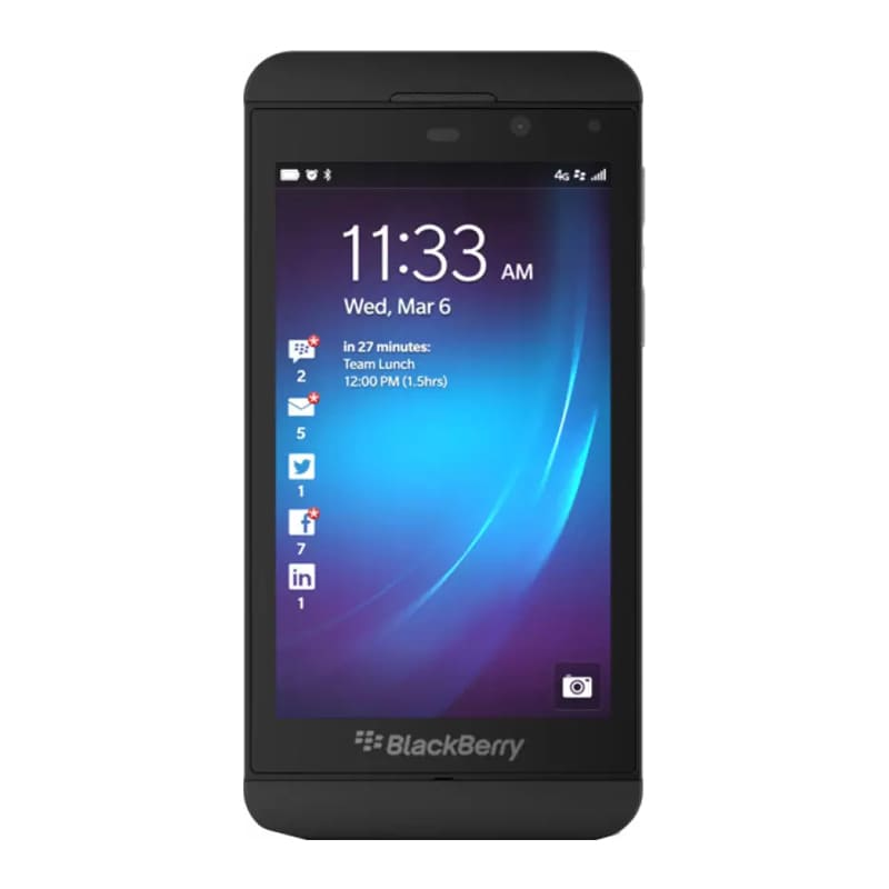IMPORTED Blackberry Z10 Black,16GB images, Buy IMPORTED Blackberry Z10 Black,16GB online at price Rs. 4,799