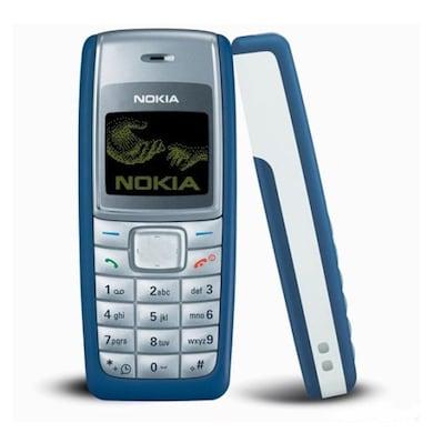 Refurbished Nokia 1110i,900 mAh Li-Ion battery (Blue) Price in India
