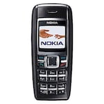 Buy IMPORTED Nokia 1600 1.4 Inch Display,Alarm Black Online