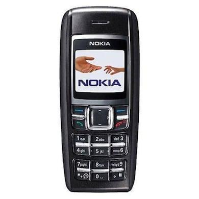 IMPORTED Nokia 1600 1.4 Inch Display,Alarm (Black) Price in India