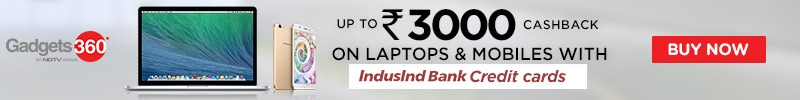 Up to Rs 3000 Cashback