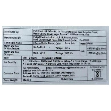 InFocus Turbo 5 Plus (3 GB RAM, 32 GB) Midnight Black images, Buy InFocus Turbo 5 Plus (3 GB RAM, 32 GB) Midnight Black online at price Rs. 7,299