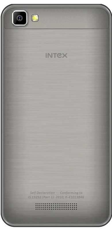 Intex Aqua Air (Grey, 512MB RAM, 8GB) Price in India