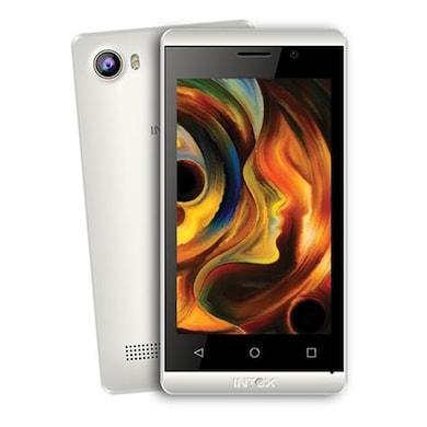 Intex Aqua Joy (Black and White, 512MB RAM, 4GB) Price in India