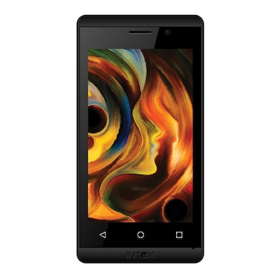 Intex Aqua Joy (Black, 512MB RAM, 4GB) Price in India