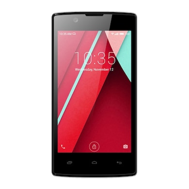 Intex Cloud 3G Candy (Black, 256MB RAM, 512MB) Price in India