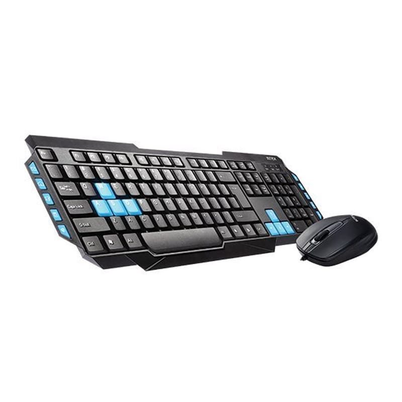 Buy Intex Duo 315 USB Keyboard and Mouse Combo With Wire Black online