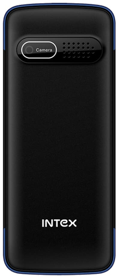 Intex Eco 205 (Black and Blue) Price in India