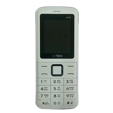 Intex Eco 205 (White and Black) Price in India