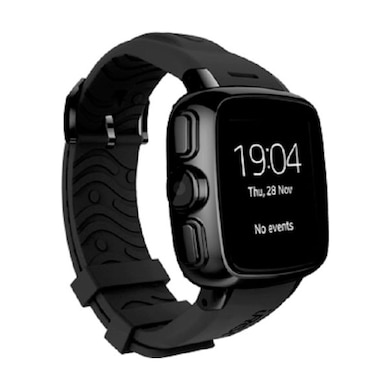 Intex IRIST Mob GSM Smart Watch Black Price in India