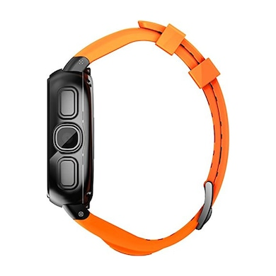 Intex IRIST Mob GSM Smart Watch Black And Orange Price in India