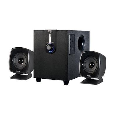 Intex IT-1666 OS 2.1 Computer Multimedia Speaker Black Price in India