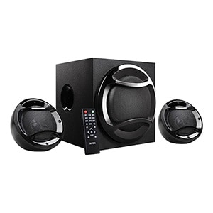 Intex IT-2200 N SUF 2.1 Channel Multimedia Computer Speaker Black Gadgets 360 Rs. 1799