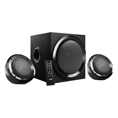 Intex IT-2202 SUF OS 2.1 Multimedia Speakers Black Price in India