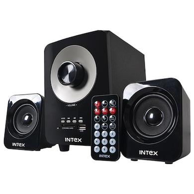 Intex IT-230 SUF 2.1 Channel Multimedia Speaker Black Price in India