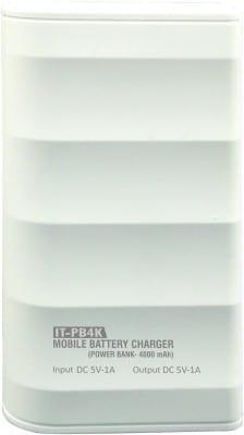 Intex IT-PB4K Power Bank 4000 mAh White Price in India