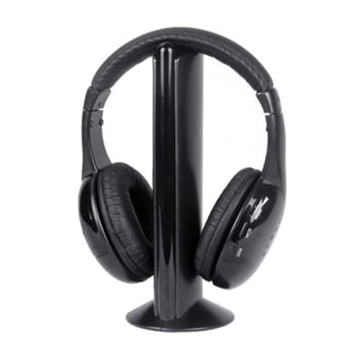 Intex Wireless Roaming Headset Black Price in India