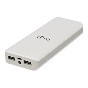 iPro IP-44 Power Bank 15600 mAh White