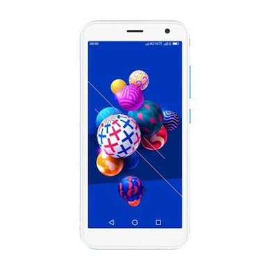 iVooMi iPro+ (White and Blue, 1GB RAM, 16GB) Price in India