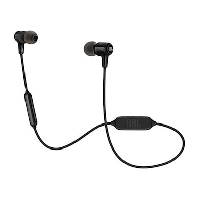 JBL E25BT Signature Sound Wireless In-Ear Headphones with Mic Black Price in India