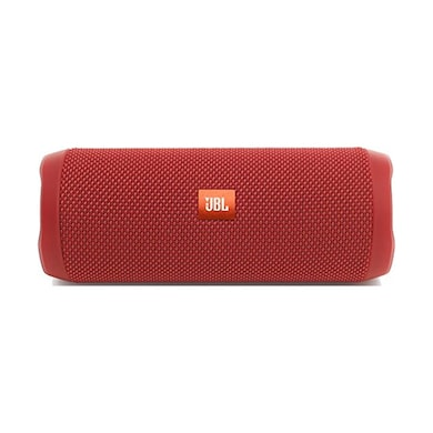 JBL Flip 4 Portable Wireless Speaker with Powerful Bass and Mic Red Price in India