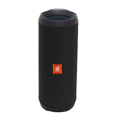 JBL Flip 4 Portable Wireless Speaker with Powerful Bass and Mic Black Price in India