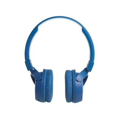 JBL T450BT Bluetooth Headset with Mic Blue Price in India