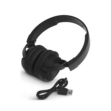 JBL T450BT Bluetooth Headset with Mic Black Price in India