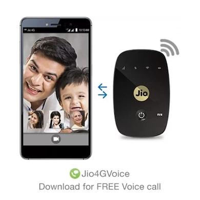 JioFi M2S Wireless Data Card Black Price in India
