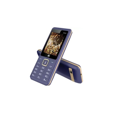 Jivi N9030, 2.8 Inch QVGA Display,Camera,Dual Sim,FM Radio (Blue and Gold) Price in India