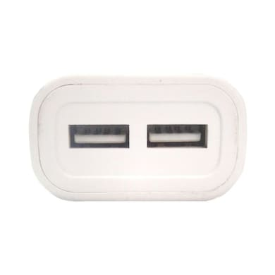 JXL 2.1A Wall Charger with 2 USB Connector White Price in India