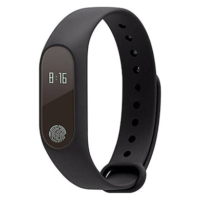 JXL M2 Smart Band With Heart Rate Sensor Features Water Proof/Sweat Free Compatible With All Device Black Price in India