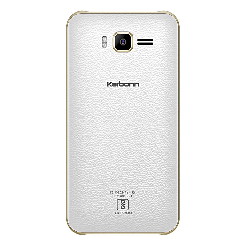 Karbonn Titanium 3D Plex White and Champagne, 8 GB images, Buy Karbonn Titanium 3D Plex White and Champagne, 8 GB online at price Rs. 2,999