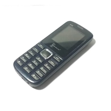 Unboxed Kenxinda K88 Dual Sim Mobile, Wirless FM (Black) Price in India