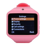Buy Kenxinda S Silicon Automatic Smart Watch 2 Inch Pink Online