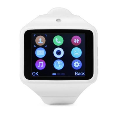 Kenxinda S Silicon Automatic Smart Watch 2 Inch (White, 32MB RAM, 32MB) Price in India