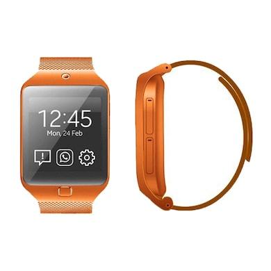 Kenxinda W3 Single Sim Smart Watch With Bluetooth Device 1.44 Inch (Orange) Price in India