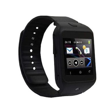 Kenxinda W3 Single Sim Smart Watch With Bluetooth Device 1.44 Inch (Black) Price in India
