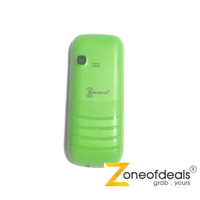 Unboxed Kenxinda X103, 2 Inch Display, Dual Sim (Green) Price in India